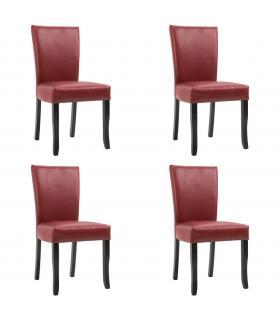Sofa en tela búfalo y madera maciza modelo Chester